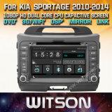 De Vensters van Witson zenden StereoSpeler DVD voor KIA Sportage 2010 2014 via de radio uit
