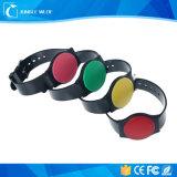 Più nuovo Wristband flessibile di plastica del braccialetto di 125kHz 13.56MHz RFID
