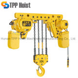 Alzamiento de cadena del motor eléctrico