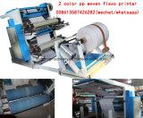 2 La couleur du papier kraft Machine d'impression flexo