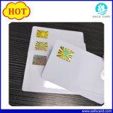 As marcas da Anti-Falsificação imprimiram o cartão do PVC com impressão da luz UV, Microtext, Watermark