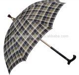 De bonne qualité parapluie droit de bâton de marche de 23inch x de 8K