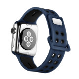Apple 38mm를 위한 새로운 최신 실리콘고무 시계 줄 결박 42mm