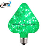Luz de bulbo eléctrica LED del bulbo estrellado LED de A60