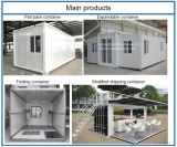 Casa popular del envase del paquete plano/casa prefabricada/casa modular/casa rápida de la instalación