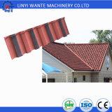 Telha de telhado revestida do metal da pedra da decoração de Elegence