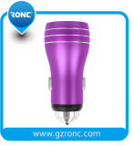 USB 3 년 Warranty GPS Car Charger 5V 3.4A Dual Charger