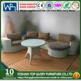 Sofa-Sets Ith Tisch-Kapitel-Couch-Kombination Linig Weidenaufenthaltsraum-Sets