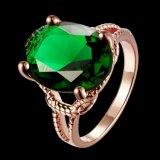 De ImitatieJuwelen van de Ring van de Partij van de Diamant van het Zirkoon van de manier