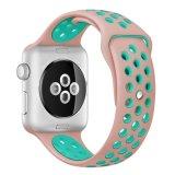para el silicón de la venda de la correa de reloj de Apple, para la venda de la correa de reloj de Apple Iwatch 3