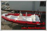 Funsor PVC/Hypalon 팽창식 배 /Fiberglass 배 (22F)