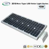 Neuer Typ 2018 einteiliges Solar-LED-Garten-Licht 15W