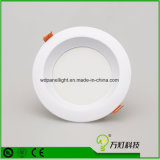 Iluminación de techo ahuecada ligera del panel 3W 6W 9W 12W 15W 18W del LED Downlight