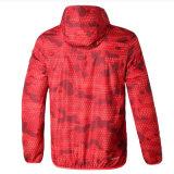 다채로운 Mens 고품질 긴 소매 방수 옥외 스포츠용 잠바 재킷