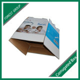 Boîte d'emballage en carton ondulé fort durables pour Bib sac