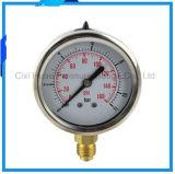 2.5inches高品質の振動証拠304のステンレス鋼の圧力計
