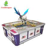 Máquina de juego de arcada de la pesca del casino de la máquina de juego del cazador de los pescados de la huelga del leopardo