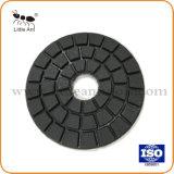 Zwart/Wit Bleekgeel Nat Oppoetsend Stootkussen voor Graniet en Marmeren Verwerking