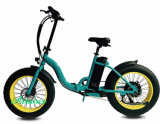 Bicicleta eléctrica plegable de aluminio de aleación de Display LCD de la Fama Bicicleta eléctrica