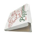 Rectángulo de empaquetado de la pizza fresca candente del papel acanalado