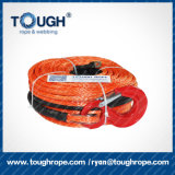 """Línea sintetizada cable 1/4 """" X50 de la cuerda del torno con el protector de la roca para ATV"""