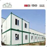 Casa prefabricada del envase del emparedado de la fila larga en China