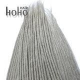 Gris synthétique de cheveu de vente chaude crochet Dreadlocks de 20 pouces