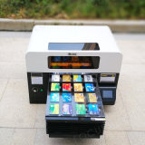 Printer van de Laser van het Kledingstuk van de Prijs van de nadruk de Goedkope UV Flatbed A2