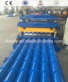 L'alta qualità ha galvanizzato il rullo delle mattonelle lustrato tetto che forma la macchina