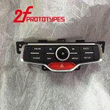 Processamento da máquina CNC protótipos de Moldes de injetoras de plástico preto de alta precisão Personalizada Laser de SLA de borracha do método de formação de modelagem de estéreo de cura de Luz