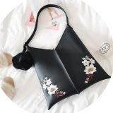 2017new 디자인 Ebroidered 꽃은 중국 Suppler Sy8632에서 여자 마약 밀매인 운반물 핸드백 형식 소녀 어깨에 매는 가방을 꾸몄다