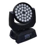 36*10W 4 em 1 luz principal movente de RGBW para a iluminação do estágio do casamento sem função do zoom