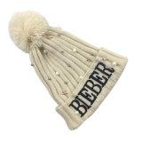 Зимы осени женщин шарики POM POM перл Unisex теплые связанные покрывают шлем заплетенный Beanie (HW121)