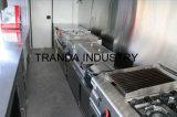 Электрические фургоны еды обеда тележки хота-дога улицы при веранда сделанная в Китае
