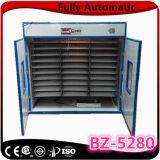 Incubateur automatique Bz-5280 d'oeuf de caille de Digitals de vente chaude d'agriculture