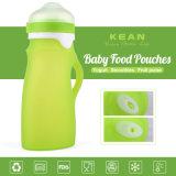 Soem 250ml nehmen BPA freie Silikon-Silikon-Baby-Zufuhr an