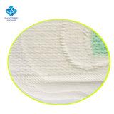 Soft algodonosas de higiene femenina toalla sanitaria con chips de aniones