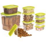 空気堅いふたが付いているプラスチック食糧貯蔵容器型