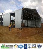 Il professionista ha progettato il magazzino prefabbricato della struttura d'acciaio