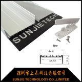 Profilo di alluminio piano del LED per l'indicatore luminoso di striscia del LED con la larghezza di 20mm