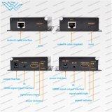 Unité d'extension 150m de HDMI avec l'IR par le chat simple (un TX à beaucoup de RX)