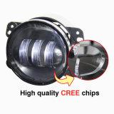 4 '' indicatore luminoso di nebbia fuso sotto pressione dell'alloggiamento 30W 4inch LED di Alumin per l'espediente di Jk del Wrangler della jeep
