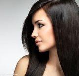 Cheveu soyeux humain de Remy Stright de prolonge brésilienne de cheveux humains