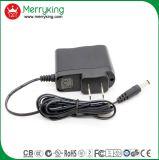 Enchufe de alta calidad Jp 5V 2A AC DC Adaptador de corriente con la aprobación de PSE
