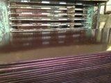 Plywoo fait face par film, faisceau de peuplier, film de Brown, M. Glue/colle de Melemne Glue/WBP, taille 1220X2440X18mm, 13 plis, 60PCS/Pallet