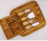 Комплект инструмента ножа сыра разделочной доски сыра доски сыра Squre Bamboo