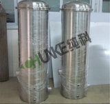 Het Systeem van de Filter van de Patroon van de Apparatuur van de Filter van het Water van Chunke