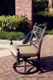Komfort-Aluminiumschwenker-Stuhl-Möbel für Garten