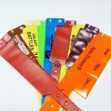 Ereignis-Festival-Vereinwegwerfpapierwristband-Armbänder
