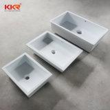 Lavandino quadrato di superficie solido di Corian della stanza da bagno moderna